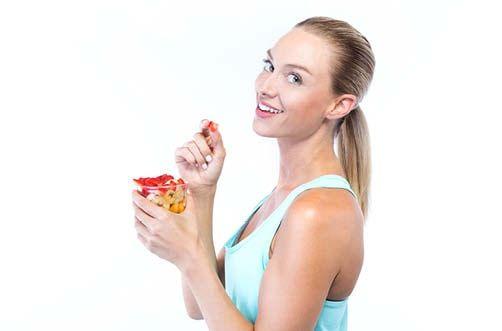 Ernaehrungstrainer ist gesunde Erdbeeren